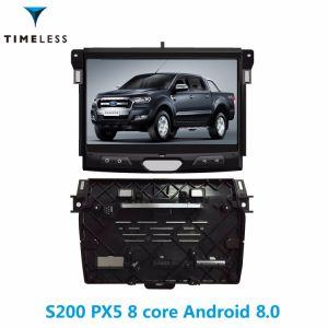 Timelesslong 인조 인간 8.0 Carplay (TID-W574)에서를 위한 건축되는 S200 플래트홈 2DIN 자동차 라디오 DVD 플레이어 Ford Ranger 2015년/