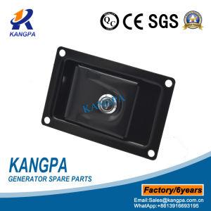 Cerradura de puerta de la paleta recubierto negro para el generador de cubierta