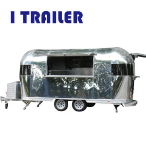 Rue de plaisance en aluminium pour camions d'aliments de collation des distributeurs automatiques
