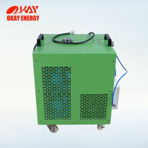 Hhoのガスの酸素の水素の炎の発電機をろう付けしている熱交換器