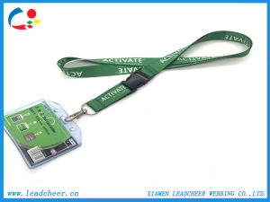 Regalo promocional OEM Lanyard poliéster cinta de transferencia térmica.