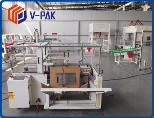 Case Erector caja de cartón corrugado y la parte inferior de la máquina selladora embalaje de productos químicos para la vida diaria