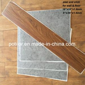 Azulejos do piso de vinil PVC Self-Adhesive / folha de PVC com auto-adesivo