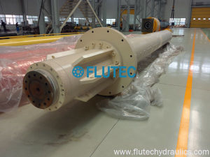 アルミ鋳造システムのためのカスタムサイズのロングストロークの水圧シリンダ