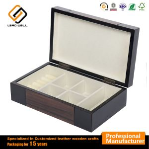 خشبيّة مجوهرات تخزين حالة [و/درور] زجاجيّة علويّة صندوق وعرض