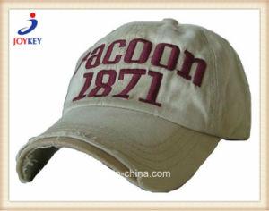 As tampas de alta qualidade de algodão lavados, tampa de lazer com o logotipo personalizado