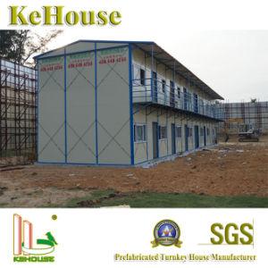スリランカの鉄骨構造のプレハブの建物の携帯用小さい家
