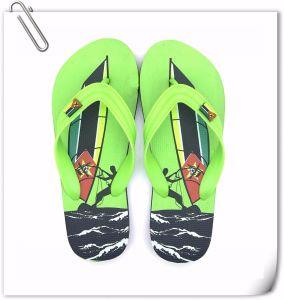 Mode de haute qualité de l'été des hommes de la plage de plein air PVC Flip Flop pantoufles
