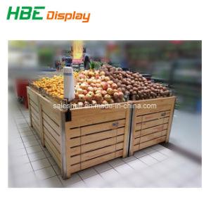Supermarkt-Form-Gemüse-und Frucht-Bildschirmanzeige-Zahnstange
