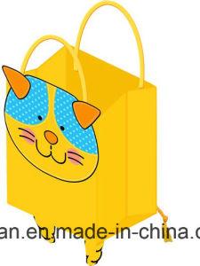 Matt colorés Lamination sac de papier cadeau avec poignées torsadées