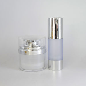 化粧品の包装のための新しいピンクのアクリルのびんのクリームの瓶(PPC-ACJ-049)