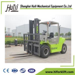 Xichaiエンジンを搭載する小さい5トンの自動ディーゼルフォークリフト