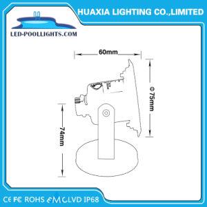 IP68 LEDのセリウム及びRoHS (HX-HUW85-3W)の水中点ライト