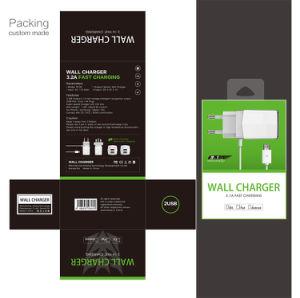 Напряжение питания на заводе два порта USB 3 Разъем ЕС дорожное зарядное устройство