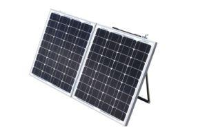 150W panel solar plegable plegable para acampar con autocaravana