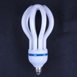 SKD Fluorescent 4u 5u 85W 105W 125W E27 B22 CFL Lotus lâmpada economizadora de energia para a lâmpada economizadora de energia da retaguarda