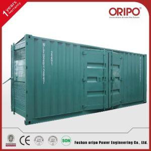 El mejor precio de 800 kw/1000kVA contenedor Diesel Industrial generador (KTA38-G5).