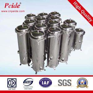 1 de Patroon van de Filter van het Drinkwater 0.6mpa van het micron SUS304