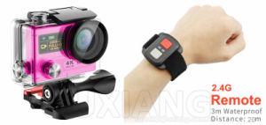 4k WiFi Ultra HD cámara de acción de pantalla dual Sport impermeable con mando a distancia de la cámara DVR DV Camcorder casco