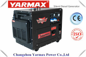 Yarmax 4.5Kw 5KW gerador diesel silenciosa preço de fábrica