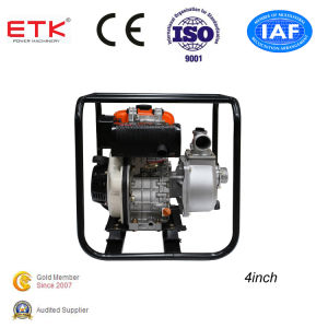 4 al cliente Diseño ordenado Diesel Bomba de agua (gran tanque)