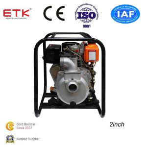 pompa ad acqua diesel 2 per irrigazione agricola (grande serbatoio di combustibile)