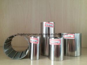 Edelstahl-Keil-Draht-Filter des Schlitz-20micron für Bier-Trennung