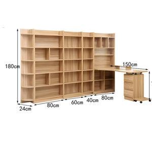 het bureau van de computer van de boekenkast van de raad van de melamine