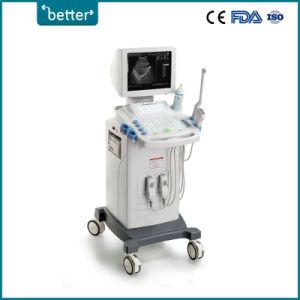 LCD carrinho totalmente digital B/W scanner de ultra-sonografia ecocardiografia/Diagnósticos/Ultrasonic