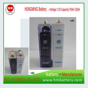 1.2V 120AH (GN120) de níquel-cadmio batería Industrial