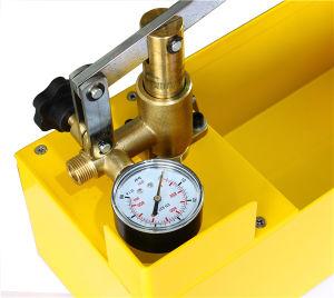 Presión del agua Manual Bomba Exámenes / probador portátil
