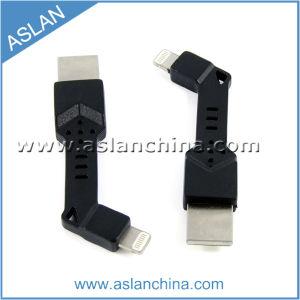 Популярные Keyring кабель зарядного устройства для iPhone 5/5s/5c производителя (AA-037-A)