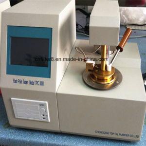 Tester del punto della Closed-Tazza dell'olio lubrificante dell'olio del trasformatore del laboratorio (TPC-3000)