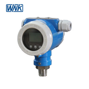 À prova de explosão 4~20mA/Hart Transmissor de Pressão Alta Temperatura Industrial com exactidão de 0,075%FS