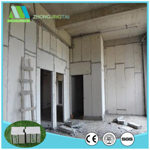 Material de construção de painéis do tipo sanduíche de EPS do painel de parede para parede divisória interna
