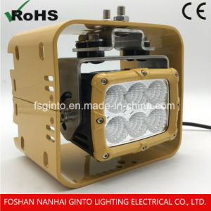 幼虫の頑丈なトラックのための高い発電60W 5.7  LEDの洪水ライト