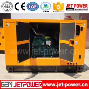 100kw van Diesel van Genset 125kVA van de Stroom de Geluiddichte Motor Cummins van de Generator