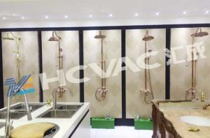 Macchina catodica della metallizzazione sotto vuoto dell'arco PVD della mobilia adatta della stanza da bagno del rubinetto