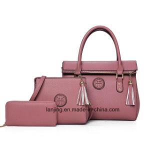 2018 Китая оптовые 3 штук кожаная сумка устанавливает сумки для дам дамской сумочке