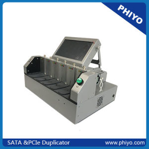 SATA& Pcie Duplicator Ксерокс PE-1051 (1 master для 5 целей)
