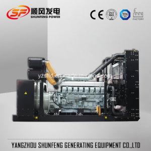 540kw de Diesel Genset van de Stroom met Brushless Alternator van de Motor van Mitsubishi