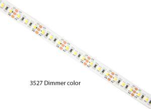 En virtud de los pasos en el exterior de 2 colores en una Cinta de LED de luz