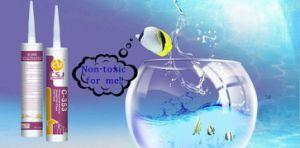 Durcissement rapide joint en silicone structurel pour réservoir de poissons de verre