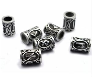 la barba Vichingo dei capelli 24PCS incanta i risultati antichi dei branelli dell'argento per i monili Pendant del collo dei braccialetti