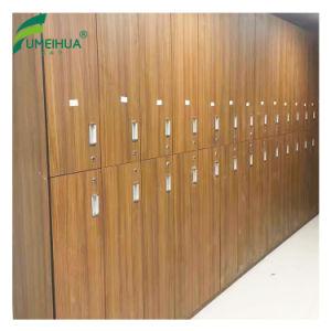 Gabinete chave estratificado do cacifo da aptidão do fechamento de HPL para a venda
