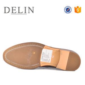 男性の服靴のためのカスタマイズされた靴の本革