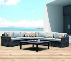 El lujo de mimbre del Patio al Aire Libre Jardín Salón de Darwin Home Hotel Oficina sofá (J029)
