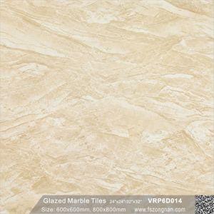 De rode Tegel van de Vloer van het Porselein van de Bevloering Volledige Opgepoetste Verglaasde voor Decoratie (600X600mm, VRP6D011)