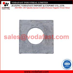 La norme DIN 434 Wedge-Shaped carrés rondelle pour U Section galvanisé à chaud