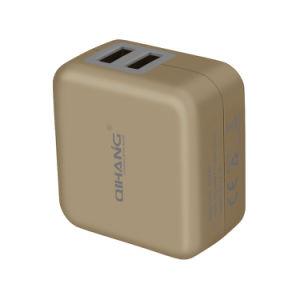 2.4A быстрый и безопасный зарядка мобильного телефона USB зарядное устройство для поездок